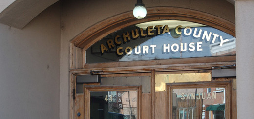 archuleta county courthouse entrance door