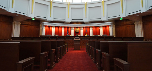 The Colorado Supreme Court Chambers in Denver, a place of importance to advocates of greater public school funding.