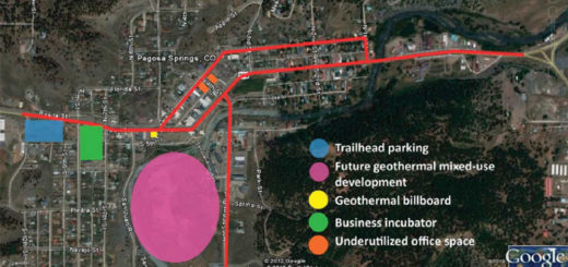 Map included in the 2012 DCI report, showing some downtown enhancements that the consultants were recommending.